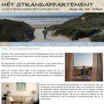 website ontwikkelen: Het Strandappartement