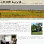 website ontwikkelen: Studio Guardini