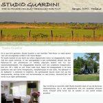 website ontwikkelen: Studio Guardini